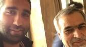 Amir Hossein Motaghi, left.