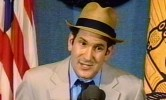 Matt Drudge at the National Press Club, June 2, 1998.