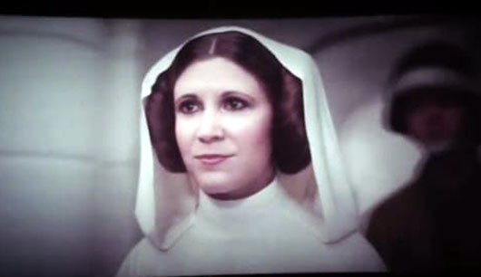 Carrie Fisher in closing scene of 'Rogue One': Sacrifice and heroism delivered 'hope' to the Rebel Alliance.