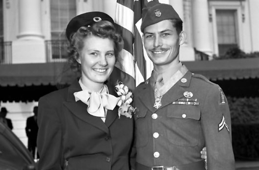 Private Desmond Doss inspired the true story upon which the move 'Hacksaw Ridge' is based.