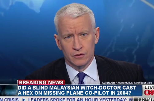 Disappearing airliner coverage fails to pull CNN out of a steep dive