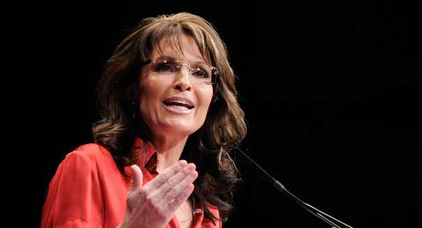 Sarah Palin mocks media: 'Hey! Hillary's brain is off-limits . . . You can't probe a woman like that'
