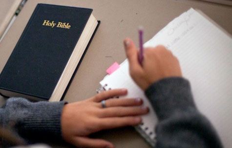 Fifth-grader commanded: Thou shalt not read the Bible