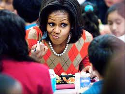 Force-feeding Michelle Obama's school lunches to nation's gagging youth
