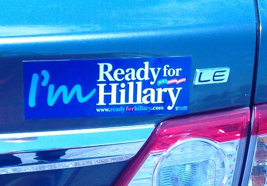 'Ready for Hillary': Seriously?