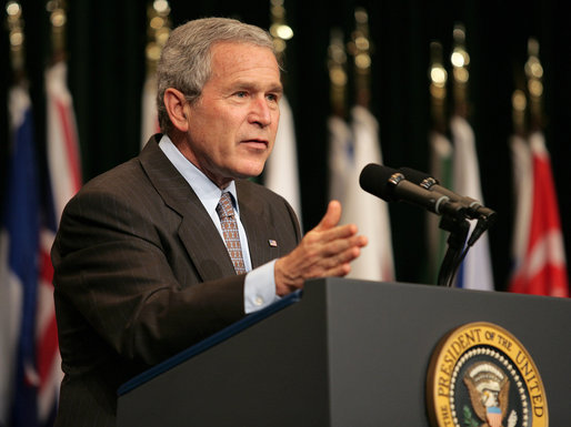 Bush in 2007: 'Withdrawal would have emboldened these radicals and extremists'
