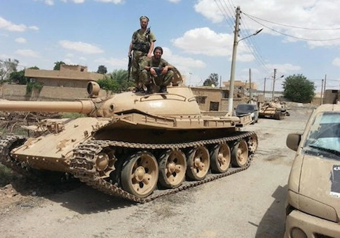 ISIL moving seized U.S. tanks, other platforms to Syria