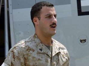 Where is Marine deserter Wassef Ali Hassoun?