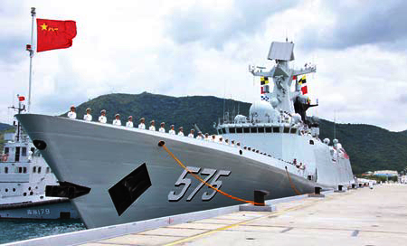 China's first-time participation in major U.S.-led Pacific exercise raises eyebrows