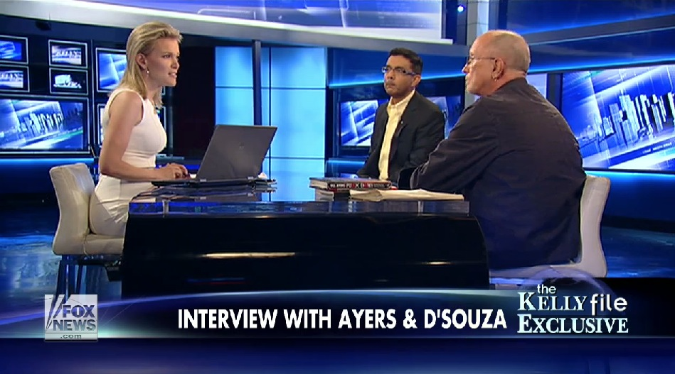 Ayers: America is bad; D'Souza: No, America is good