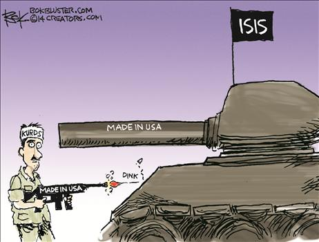 A slight problem in Iraq, but not in Martha's Vineyard . . .