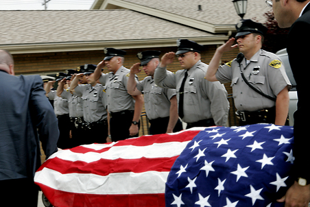 Reality check: Police risk their lives 24-7 in America's 'war zones'