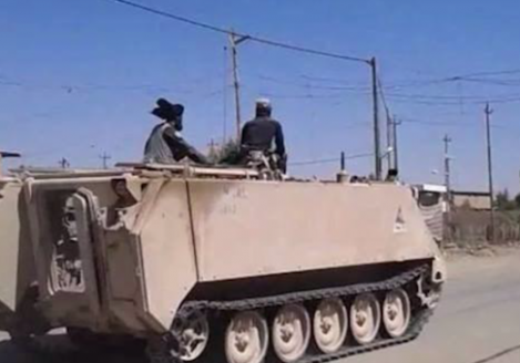 ISIL hides among civilians after U.S. air strikes