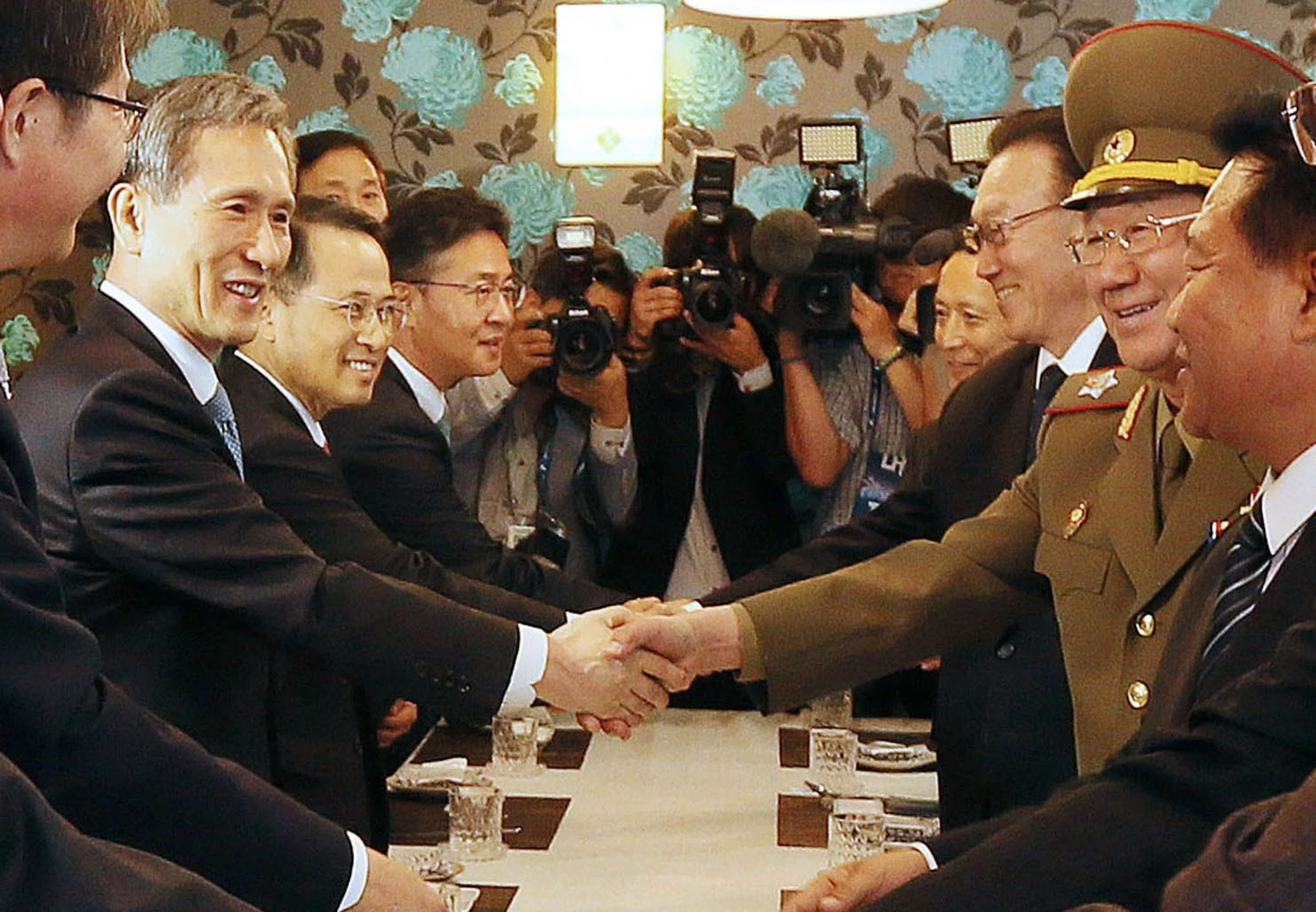 'Really big deal': Top-level North Korean delegation pays unannounced visit to South