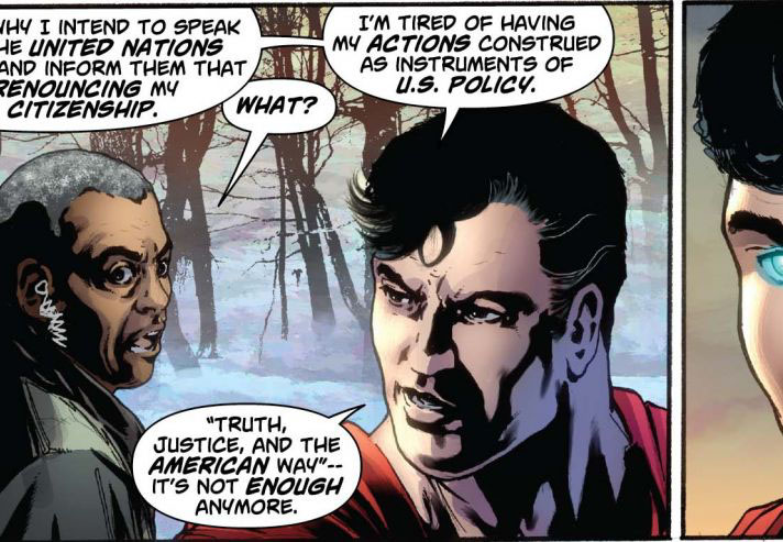 Why Superman's liberal owners had him renounce his U.S. citizenship