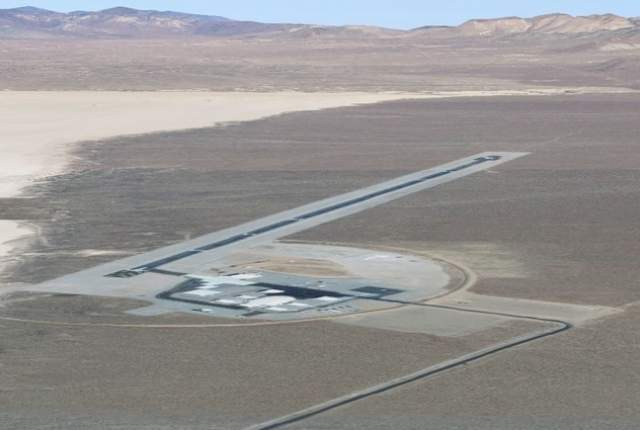 Secret Area 6, near Area 51, uses controlled airspace to test airborne sensors
