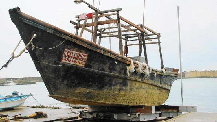 Ghost ships from North Korea carry few clues other than corpses