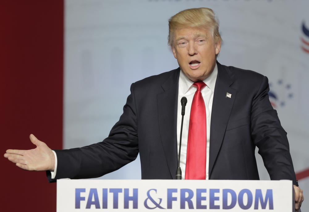Trump wins over Evangelicals with pledge to restore their freedom of speech