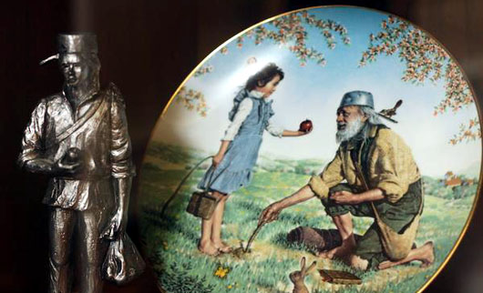 The life and times of Johnny Appleseed, a great American