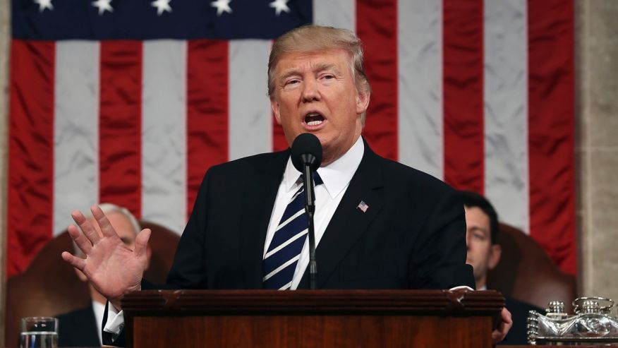 President Trump to Congress: Renew the American spirit, dream 'big and bold'