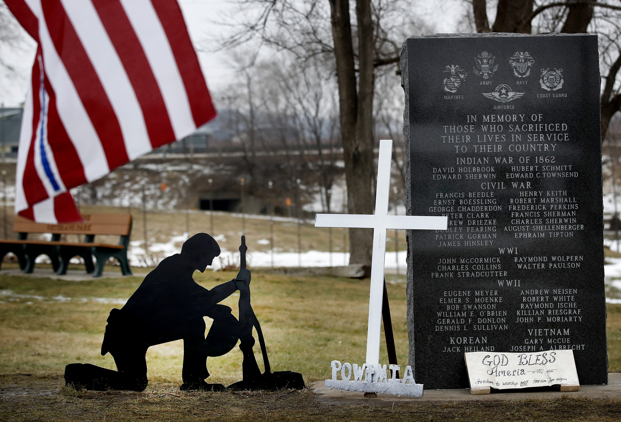 First Satanic monument on public property to be erected at veterans memorial park