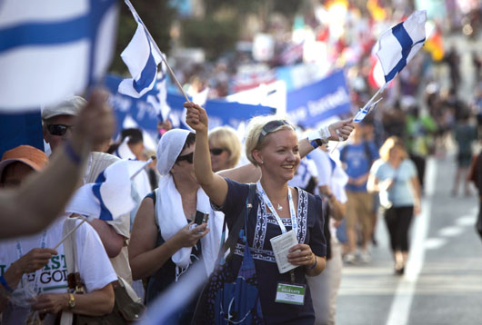 Memo to the Left and American Jews: Why Christians naturally support Israel