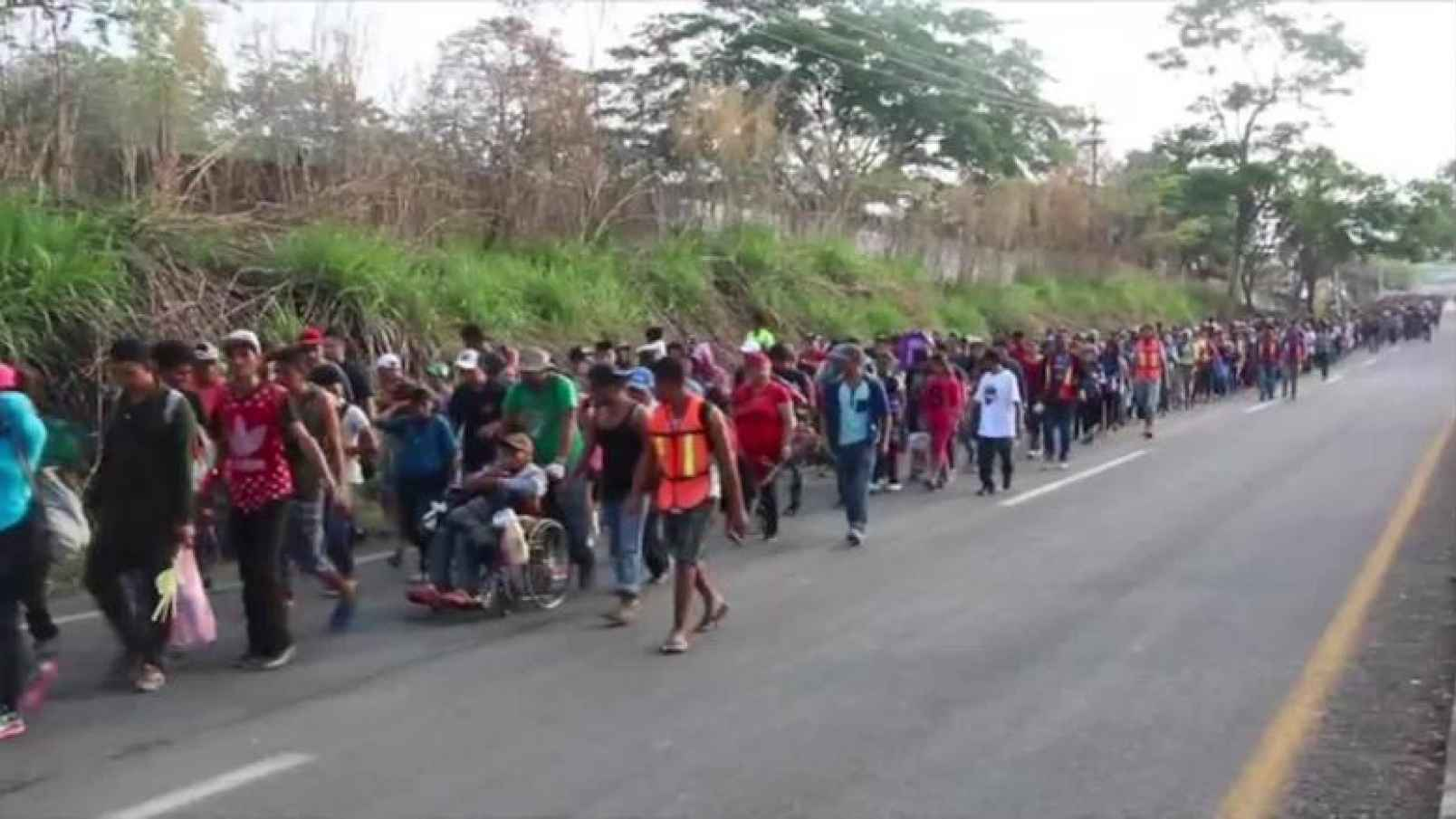 'Migrant' convoys, criminal sanctuaries and American churches