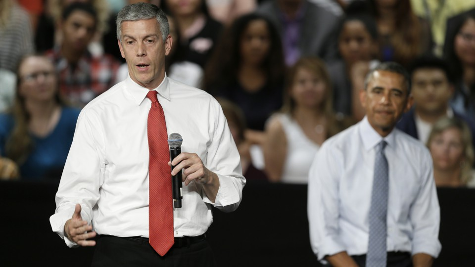 Educrat Arne Duncan: Different from me and thee