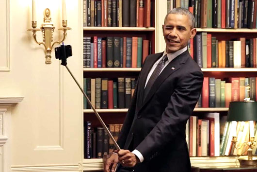 Obama wants to make 2018 midterms all about his legacy; Go for it, President Selfie!