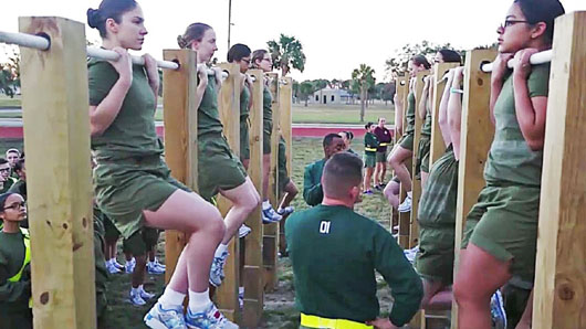 Think tank: 'Gender integration' of Marines' basic training is a bad idea