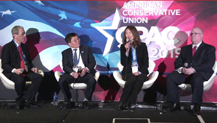 CPAC: The threat to democracy in South Korea