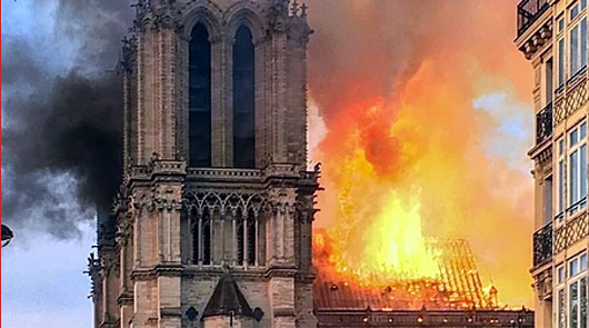 Notre Dame and the post-Christian West: An omen