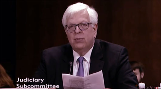 Columnist Dennis Prager testifies before the U.S. Senate on Big Tech censorship