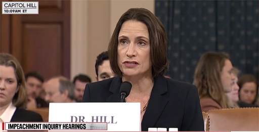 Fiona Hill should be condemned by Jewish groups; She won't be
