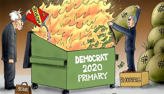 Bonfire of Democratic vanities