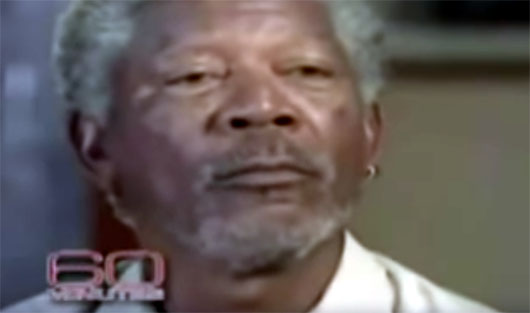 Black History Month: What Morgan Freeman explained to Mike Wallace