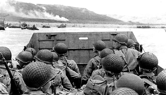June 6, 1944, the largest seaborne invasion in world history 'to preserve our civilization'
